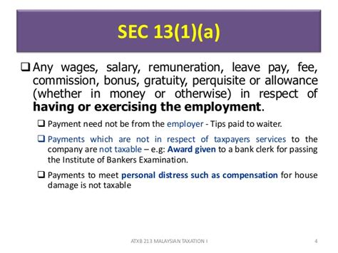 section 153 of income tax act chapter 4 b employment income