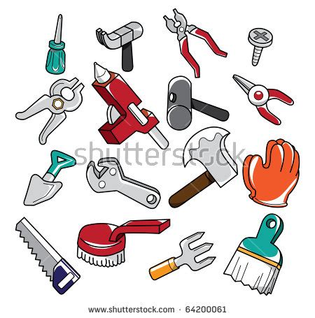 doodle tools tools stock images royalty free images vectors