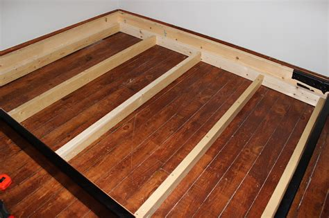 How To Build A Box Bed Frame How To Make A Box Bed Frame Pdf Woodworking