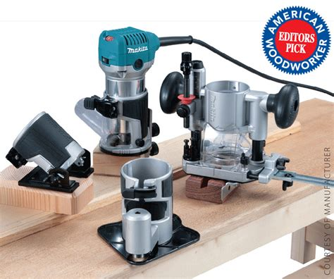 Woodworking Tool News Compact Router Big Features