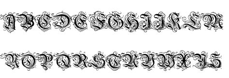 dekor schrift image gallery decorative fonts
