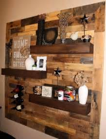 Craft Ideas For Kitchen pallet floating shelves these are the best diy pallet amp wood ideas