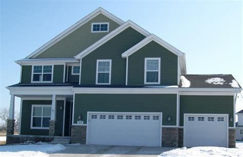 green siding vinyl siding and trim options green ensemble from