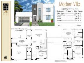 Modern Villa Designs And Floor Plans by Modern Floor Plan Of Villa Joy Studio Design Gallery