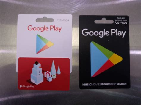 How To Load A Google Play Gift Card - you can now choose how much to load on google play gift cards ausdroid
