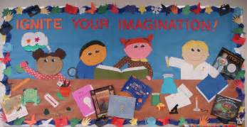 Ignite your imagination bulletin board idea myclassroomideas com