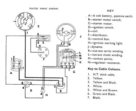 tractor dynamo wiring diagram 29 wiring diagram images