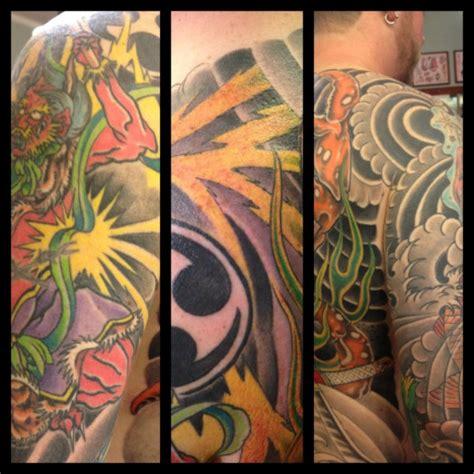 japanese tattoo lightning lightning cobra custom tattoo