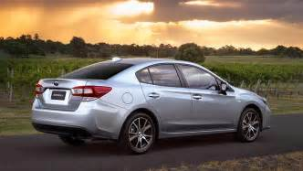 Subaru Sedan Models Subaru Impreza 2 0i Sedan 2017 Review Snapshot Carsguide