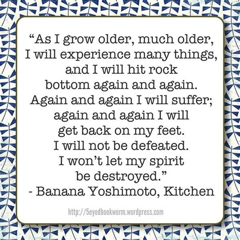 from quot kitchen quot by banana yoshimoto quotes worth
