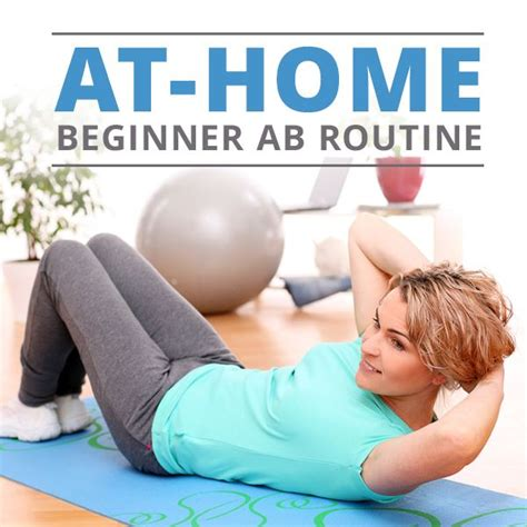 25 best ideas about beginner ab workouts on