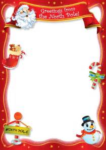 free letter from santa template best photos of santa letter template blank blank letter