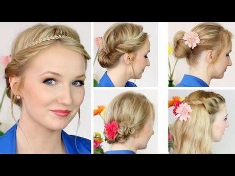 Flechtfrisuren Für Hochzeit by Schicke Frisuren Mittellanges Haar