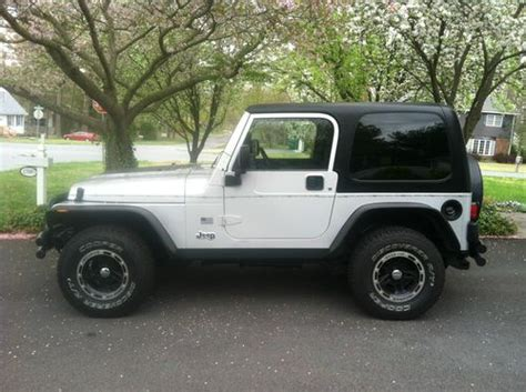 2004 Jeep Wrangler Mpg Find Used 2004 Jeep Wrangler Rocky Mountain Ed Top