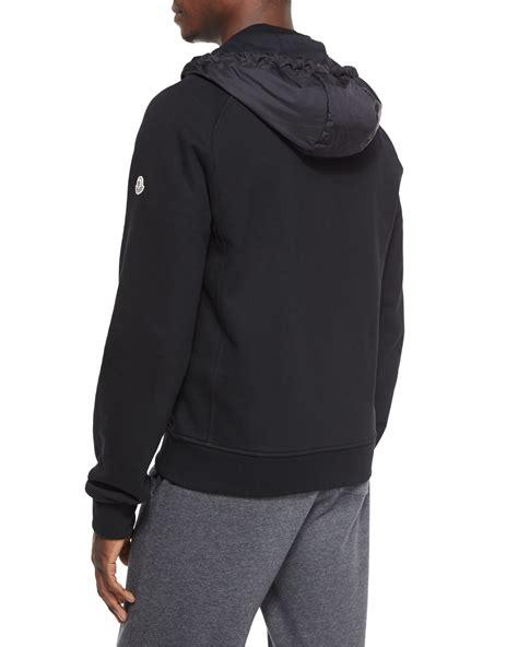 Joyrides Hoodie Black Technocool 1 lyst moncler mixed media zip hoodie in black for