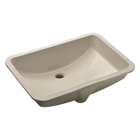 rectangle undermount bathroom sinks bathroom sinks the home depot
