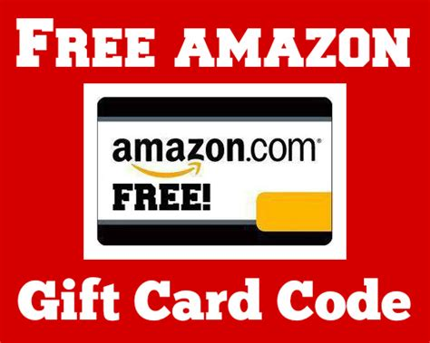 Free Code For Amazon Gift Card - free amazon gift cards codes 2017 100 working