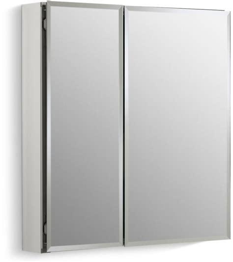 Medicine Cabinet Door Hinges Kohler K Cb Clc2526fs Silver Aluminum 25 Quot X 26 Quot Door Reversible Hinge Frameless Mirrored