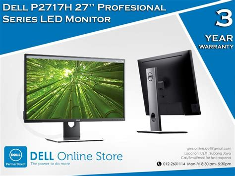 Lcd Dell P2717h Profesional Led Monitor dell p2717h 27 profesiona end 11 15 2017 11 15 am myt