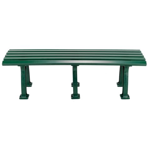 tennis bench tourna tennis mid court bench 5 feet green