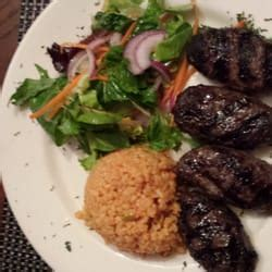 Olive Garden Massapequa Ny by Patties With Yellow Rice And Salad
