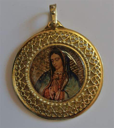 imagenes medallas catolicas virgen de guadalupe medalla medal dijes con imagenes