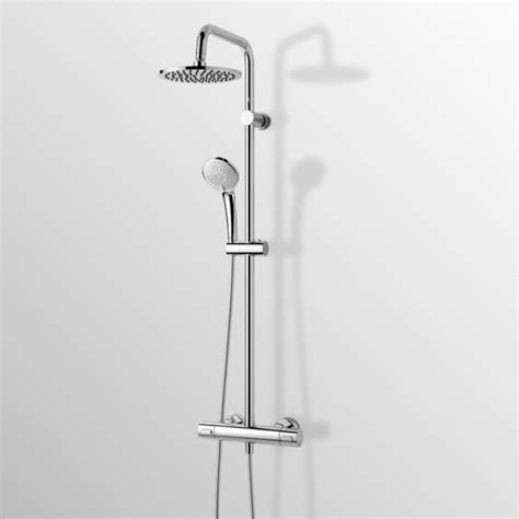 ideal standard colonna doccia colonna doccia serie idealrain duo di ideal standard