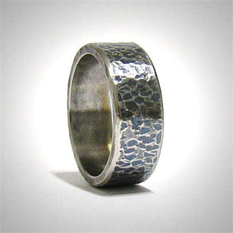 20 best rustic s wedding band rings silver