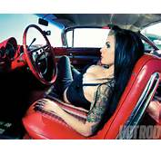 Annual Pinup Section  Girls Just Because Hot Rod Network