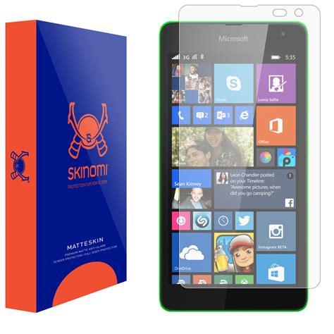 Screen Guard Microsoft Lumia 535 skinomi matteskin microsoft lumia 535 matte screen protector