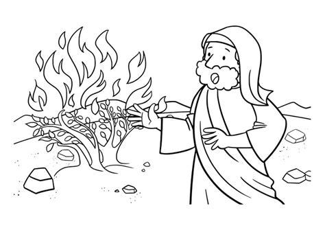 imagenes biblicas para colorear de moises malvorlage moses ausmalbild 29930
