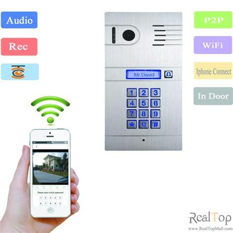 ip with app wireless ip intercom wifi door phone ip