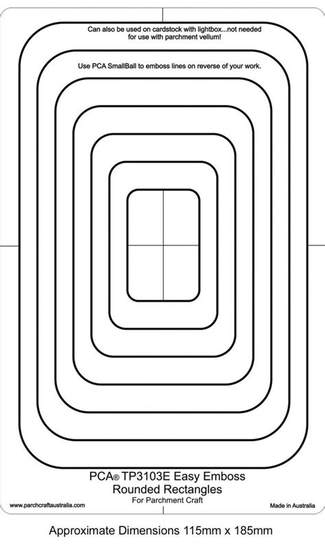 embossing template pca embossing templates frames and corners craft supplies