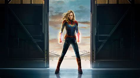 captain marvel   official poster full hd  wallpaper