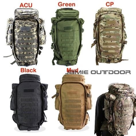 Tas Airsoft Hoozler Gun Bag 60l tactical rifle carry backpack shotgun bag airsoft