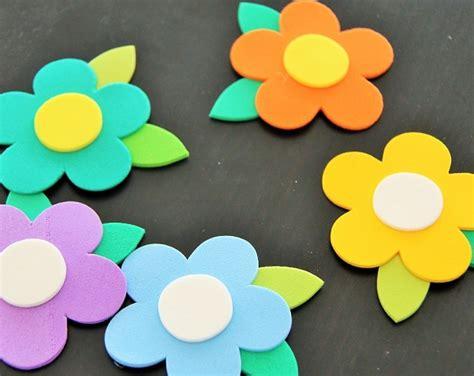 imagenes flores de goma eva c 243 mo hacer flores de goma eva paso a paso bricolaje10 com