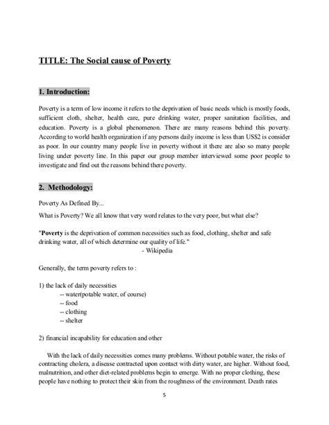 thesis statement for poverty thesis introduction about poverty mfawriting61 web fc2