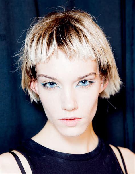 marc jacobs runway models shag hairstyles the bowl haircut hair extensions blog hair tutorials