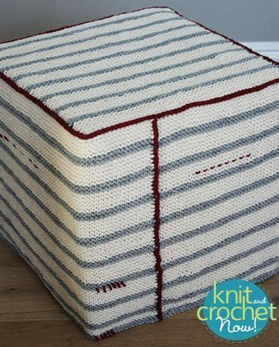 Ottoman Cover Garter And Ottomans On Pinterest Ottoman Cover Pattern