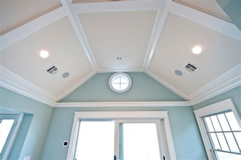 Simple Coffered Ceiling Designs by Low Profile Coffered Ceiling