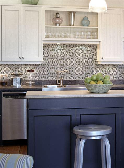 collection tile kitchen backsplash