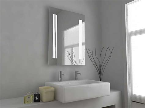 bathroom mirrors with lights and demister modern mirror design illuminated bathroom mirror with