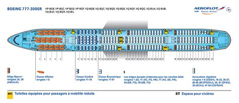 boeing 777 300er sieges plans des si 232 ges aeroflot