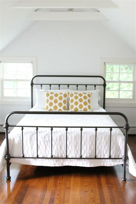 black iron bed frame iron beds