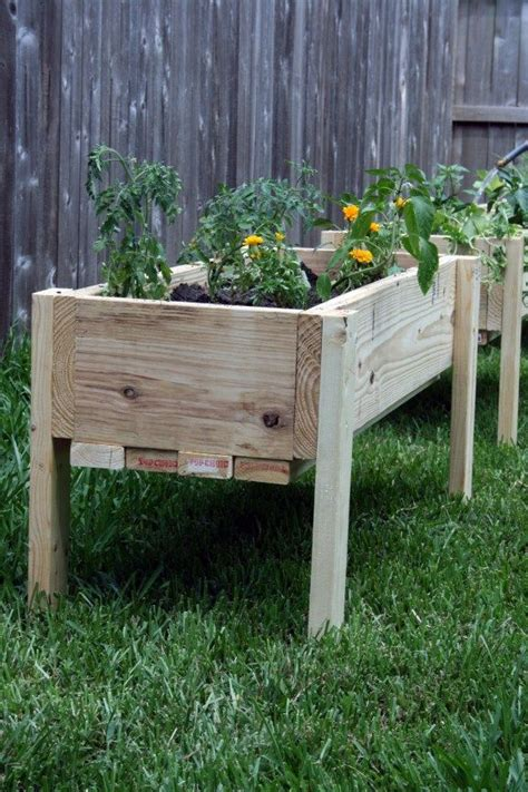elevated raised bed elevated raised garden beds garden ideas pinterest