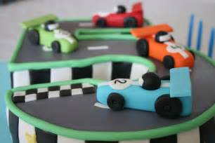 race track birthday cake cakejournal