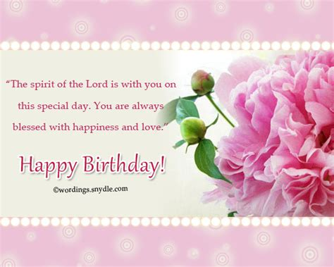 Christian Happy Birthday Wishes For Christian Birthday Wordings And Messages Wordings And