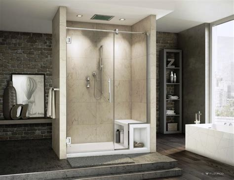 Small Shower Base by About Allegiant Shower Doors Allegiant Glass Showers