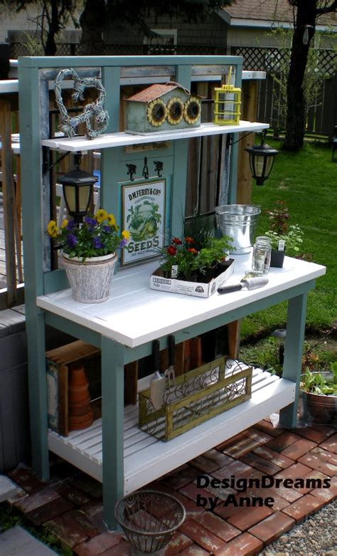 garden potting bench ideas 25 cool diy garden potting table ideas