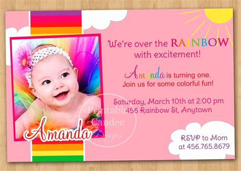 Birthday Invitation Card Template by 1st Birthday Invitation Cards Templates Free Theveliger